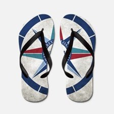 Grey Sloan Memorial Hospital Compass Flip Flops