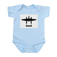 Cute P38 lightning Infant Bodysuit