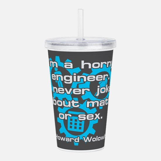 BIGBANG HORNY ENGINEER Acrylic Double-wall Tumbler