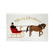 Christmas Sleigh Magnets