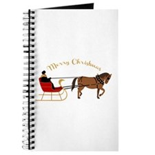 Christmas Sleigh Journal