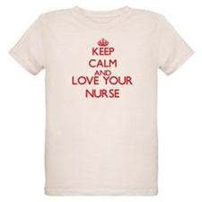 Keep Calm and love your Nurse T-Shirt