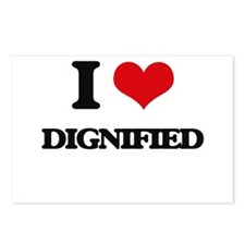 I Love Dignified Postcards (Package of 8)