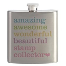 Stamp Collector Flask