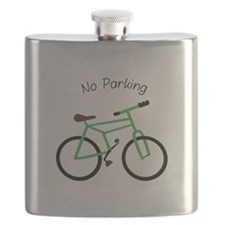 No Parking Flask