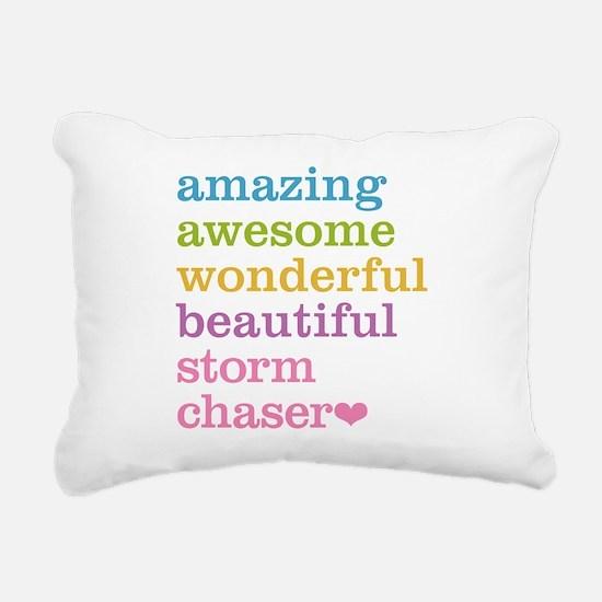 Storm Chaser Rectangular Canvas Pillow