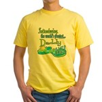 Best Daddy Ever Yellow T-Shirt