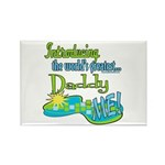 Best Daddy Ever Rectangle Magnet (100 pack)
