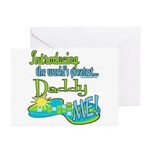 Best Daddy Ever Greeting Cards (Pk of 10)
