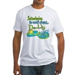 Best Daddy Ever Fitted T-Shirt
