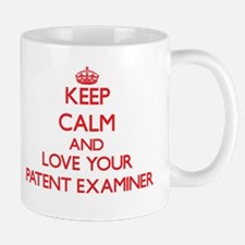 Keep Calm and love your Patent Examiner Mugs