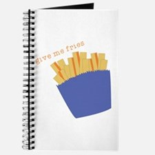 Give Me Fries Journal