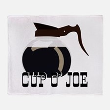 Cup O Joe Throw Blanket