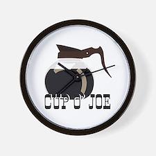 Cup O Joe Wall Clock