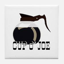 Cup O Joe Tile Coaster