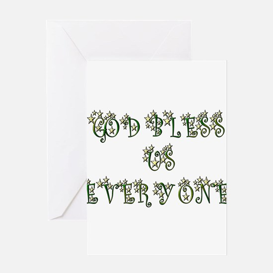 God Bless Us Every One! Greeting Cards (Package of