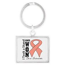 Won Endometrial Cancer Landscape Keychain