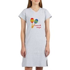 Cinco de Mayo Maracas Women's Nightshirt
