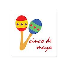 Cinco de Mayo Maracas Sticker