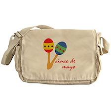 Cinco de Mayo Maracas Messenger Bag