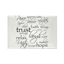 Positive Words - Magnets