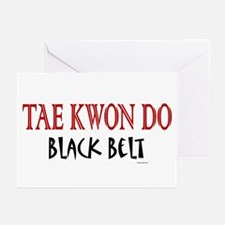 Tae Kwon Do Black Belt 1 Greeting Cards (Package o