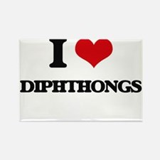 I Love Diphthongs Magnets