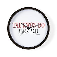 Tae Kwon Do Black Belt 1 Wall Clock