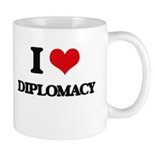 I Love Diplomacy Mugs