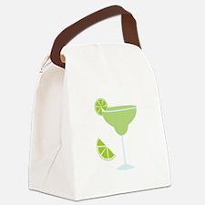 Lime Margarita Canvas Lunch Bag