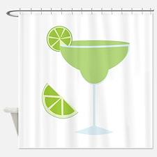 Lime Margarita Shower Curtain