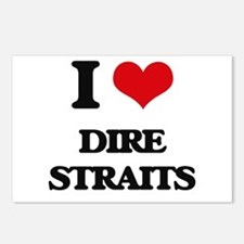 I Love Dire Straits Postcards (Package of 8)