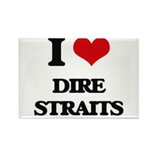 I Love Dire Straits Magnets