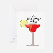 Margarita Time Greeting Cards
