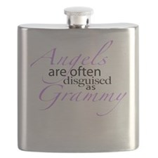 Angel disguised as Grammy Flask