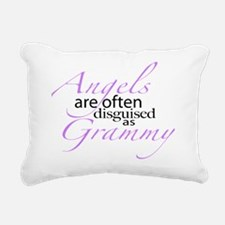 Angel disguised as Gramm Rectangular Canvas Pillow