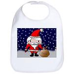Cute Santa Bib