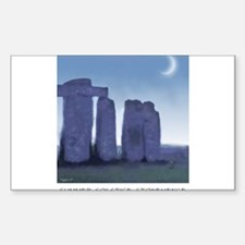 Stonehenge Rectangle Decal