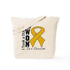 Won Appendix Cancer Tote Bag