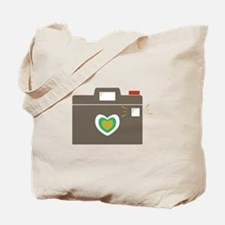 Camera Flash Tote Bag