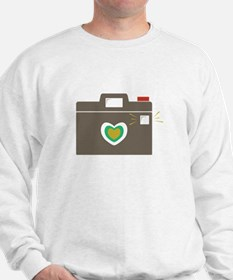 Camera Flash Sweatshirt