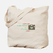 Camera Moment Tote Bag