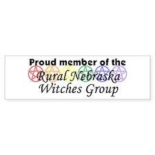 RNWG proud member Bumper Bumper Sticker