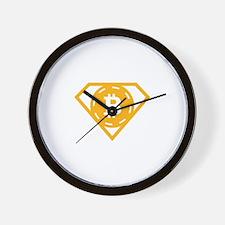 StonefishSays Bitcoin Logo Tee Wall Clock