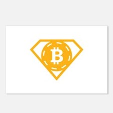 StonefishSays Bitcoin Log Postcards (Package of 8)