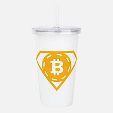 StonefishSays Bitcoin Acrylic Double-wall Tumbler