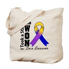Won Bladder Cancer Tote Bag