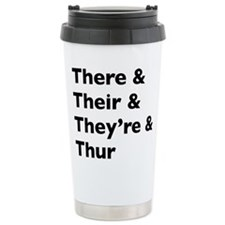 Cute Nerd joke Travel Mug
