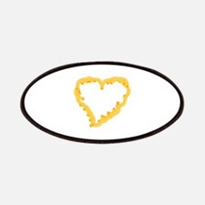 Macaroni Heart Patches