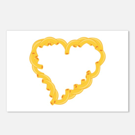 Macaroni Heart Postcards (Package of 8)